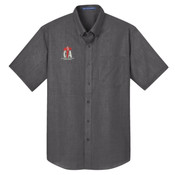 CTA - Short Sleeve Crosshatch Easy Care Shirt
